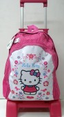 Mochila Hello Kitty c/ Trolley 40x29cm