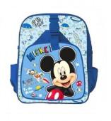 Mochila Inf Pré Escolar Mickey Disney 30cm