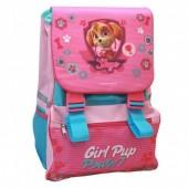 Mochila italiana Patrulha Pata - Girl Pup Power - 41 cm