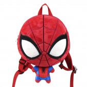Mochila Peluche 3D Spiderman 30cm