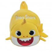 Mochila Peluche Baby Shark Amarelo