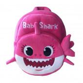 Mochila Peluche Baby Shark Rosa