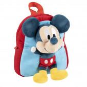 Mochila Peluche Mickey 3D 23cm