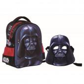 Mochila pré 3D de 31cm con mascara Darth Vader de Star Wars