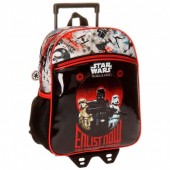 Mochila pré de 33cm com trolley Star Wars - Enlist Now