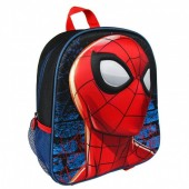 Mochila pré-escola 31cm Spiderman 3D