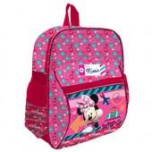 Mochila pré escolar 2 bolsos Disney Minnie Travel