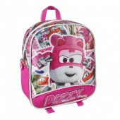 Mochila pré escolar 24 cm com Dizzy de Super Wings - Rescue Power