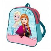 Mochila pré-escolar 24cm Frozen - Keep Calm Let it Go