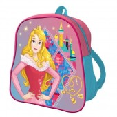 Mochila pré-escolar 24cm Princesas Disney