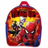 Mochila Pré Escolar 25cm Spiderman Marvel