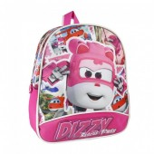 Mochila pré escolar 28 cm com Dizzy de Super Wings - Rescue Power