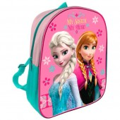 Mochila pré-escolar 28cm adap Frozen - My Sister My hero