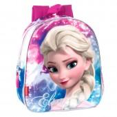 Mochila pré-escolar 28cm Frozen - Shining