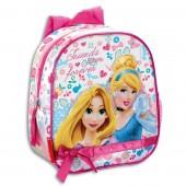 Mochila pré-escolar 28cm Princesas Disney - Forever