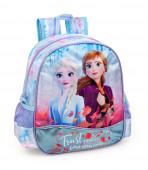 Mochila Pré Escolar 29cm Frozen 2 Trust Your Journey