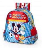 Mochila Pré Escolar 29cm Mickey Team Mickey