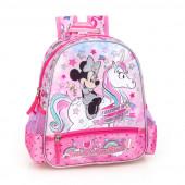 Mochila Pré-Escolar 29cm Minnie I Believe in Unicorns
