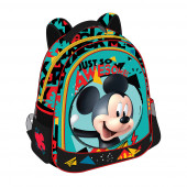 Mochila  pré-escolar 31 cm Mickey - Just So Awesome