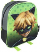 Mochila pré-escolar 31cm 3D Cat Noir