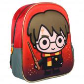 Mochila Pré Escolar 31cm 3D Harry Potter