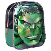 Mochila Pré Escolar 31cm 3D Hulk Avengers