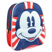 Mochila Pré Escolar 31cm 3D Mickey