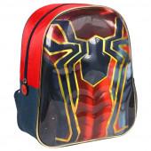 Mochila Pré Escolar 31cm 3D Spiderman Marvel
