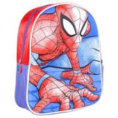 Mochila Pré Escolar 31cm 3D Spiderman