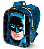 Mochila Pré Escolar 31cm Batman 3D