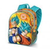 Mochila Pré Escolar 31cm Dragon Ball Super 3D Energy