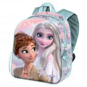 Mochila Pré Escolar 31cm Frozen 2 3D Be Magic
