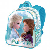 Mochila Pré Escolar 31cm Frozen 2 3D Seek the Truth