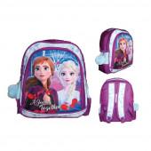 Mochila Pré Escolar 31cm Frozen 2 Disney
