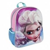 Mochila pré escolar 31cm Frozen Disney Anna 3D