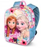 Mochila Pré Escolar 31cm Frozen Smile 3D