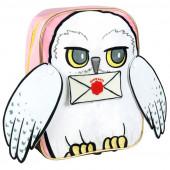 Mochila Pré Escolar 31cm Hedwig Harry Potter 3D