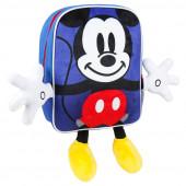 Mochila Pré Escolar 31cm Mickey Disney