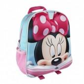 Mochila pré-escolar 31cm Minnie 3D Disney