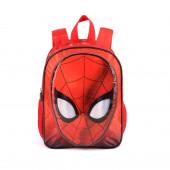 Mochila Pré Escolar 32 cm Reversível Spiderman Spiderweb
