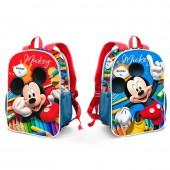 Mochila pré escolar 32cm Mickey Disney - Crayons