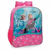 Mochila pré-escolar 33cm adaptável Frozen - Star