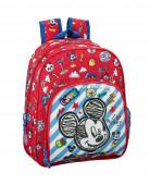 Mochila Pré Escolar 34cm adap Mickey Maker