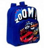 Mochila pré escolar 34cm azul Blaze - Zoom