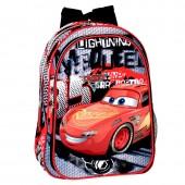 Mochila pré-escolar 37cm Cars Disney - Fast