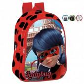 Mochila pré- escolar 37cm LadyBug Amour