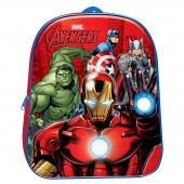 Mochila Pré Escolar 3D Avengers 31cm