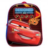 Mochila Pré Escolar 3D Cars 31cm
