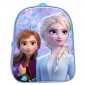 Mochila Pré Escolar 3D Frozen 2 31cm
