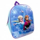 Mochila pre escolar 3D Frozen Sisters